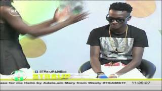 getlinkyoutube.com-Str8Up Live: Musicians Jay A and Dazzla on their new collabo