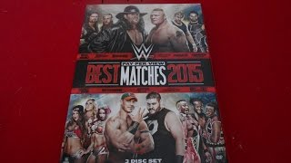 WWE Best PPV Matches 2015 DVD Pickup!!!!!