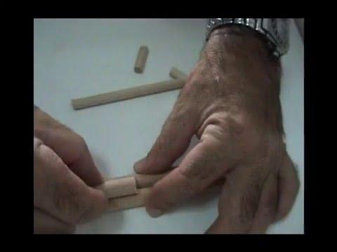 Elaboración de un árbol con pasta de modelar