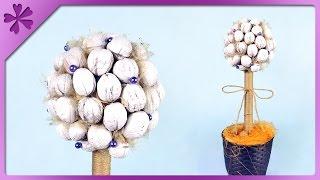 getlinkyoutube.com-DIY Walnut tree, autumn decoration (ENG Subtitles) - Speed up #260