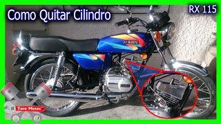getlinkyoutube.com-Yamaha RX 115 Desensamblar Cilindro Piston Y Culata | ToroMotos