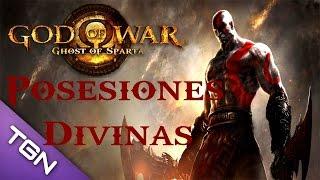 getlinkyoutube.com-GoW Ghost of Sparta - Posesiones Divinas | Trofeo Cazatesoros | Reliquias (Español)