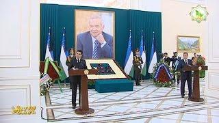 getlinkyoutube.com-Речь президента Туркменистана на похоронах Ислама Каримова