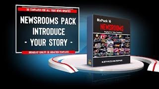 getlinkyoutube.com-BixPack 16 - Intro video templates - Newsrooms
