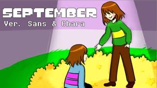 getlinkyoutube.com-【Undertale】September Ver. Sans & Chara【The Living Tombstone】