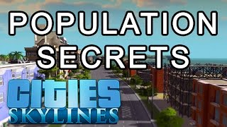 getlinkyoutube.com-Cities: Skyline Population Secrets - How to increase Density