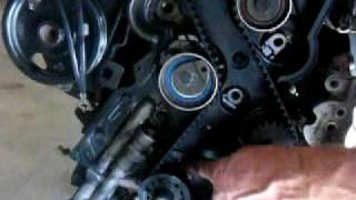 getlinkyoutube.com-2.4 DOHC Stratus Timming Belt Setting