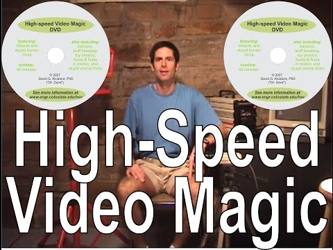 High Speed Video Magic DVD