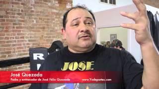 Jose Felix Quezada campeón de Golden Gloves convertido a profesional