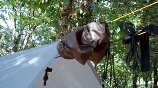 getlinkyoutube.com-My backpacking hammock system