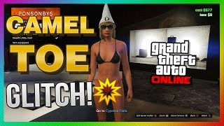 getlinkyoutube.com-GTA 5 Online Glitches - Wierd Female Camel Toe Glitch! (GTA 5 PS4)