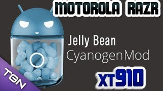 getlinkyoutube.com-Tutorial - Como Instalar ROM Cyanogenmod 10.1 - Motorola Razr XT 910