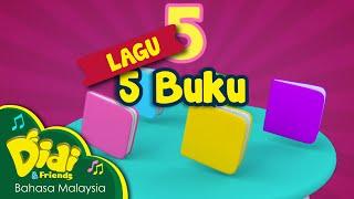 getlinkyoutube.com-Lagu Kanak Kanak | 5 Buku | Didi & Friends