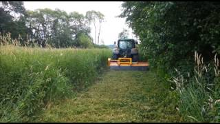 INO flail mowers video 2014