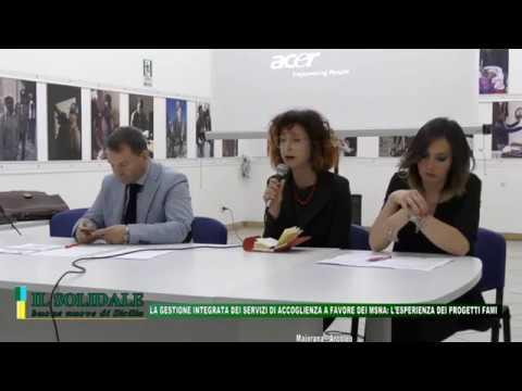 Video: LA GESTIONE INTEGRATA DEI SERVIZI DI ACCOGLIENZA A FAVORE DEI MSNA: L'ESPERIENZA DEI PROGETTI FAMI