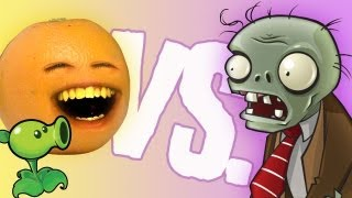 getlinkyoutube.com-Annoying Orange - vs Plants vs Zombies