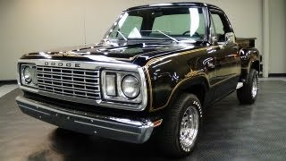 getlinkyoutube.com-1978 Dodge Warlock Pickup V8 - Mopar Muscle Truck