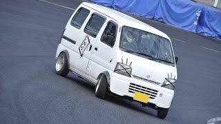 getlinkyoutube.com-2014 D-SPORT CUP Rd.4 茂原ツインサーキット ドリフトクラス  エブリイ