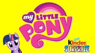 getlinkyoutube.com-Kinder Surprise Eggs MY LITTLE PONY - Ü Ei MEGA unboXing