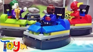 getlinkyoutube.com-lele 닉퓨리 놀이동산 범퍼카 30303 프로모션 레고 짝퉁 조립 리뷰 Lego knockoff nick fury Bumper Car