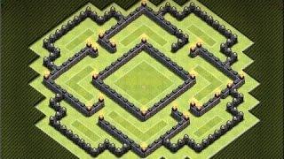 getlinkyoutube.com-● كلاش اوف كلانس ● افضل بناء قرية لحرب الكلان و الكوؤس ● تاون هول لفل 7 ●