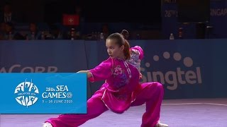 getlinkyoutube.com-Wushu - Women's Optional Changquan (Day 2) | 28th SEA Games Singapore 2015