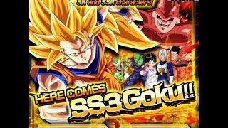 getlinkyoutube.com-Here Comes SSJ3 Goku!! Summoning Event: DBZ Dokkan Battle