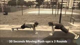 10-7-5 Fitness Workout (7 minutes Upper Body Workout)