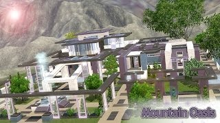 getlinkyoutube.com-The Sims 3 - House Building - Mountain Oasis