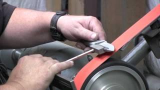 getlinkyoutube.com-Entrek Knives - How The Knives Are Made - Part 4