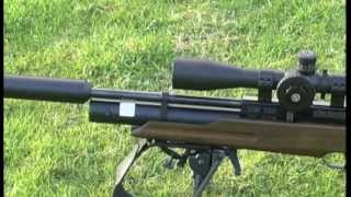 getlinkyoutube.com-Rabbit Hunting with the HW100 Air Rifle  Weihrauch HW100KT 177 Model