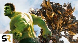 getlinkyoutube.com-The Avengers VS Transformers New Fan Trailer! Amazing Epic Supercut!