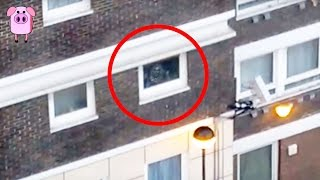 5 Ghosts Caught On CCTV