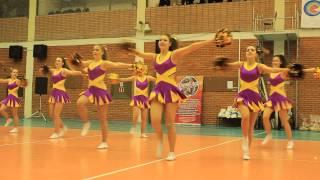 Чемпионат ЯрГУ по Черлидингу 2015. Команда ФСПНФАК. Жанр Dance.