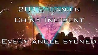 getlinkyoutube.com-2015 Tianjin China Huge Explosion HD Every Angle Synced
