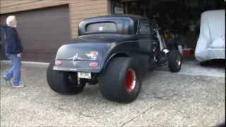 getlinkyoutube.com-1932 Ford Coupe Blown Big Block Chevrolet