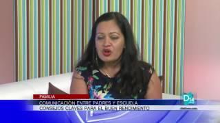 Eliana Tardío habla sobre la importancia de la comunicación entre padres y escuelas