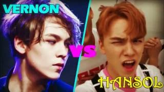 getlinkyoutube.com-▲Seventeen Vernon vs Hansol▲