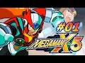 Megaman X 5 El Mar Con Zero