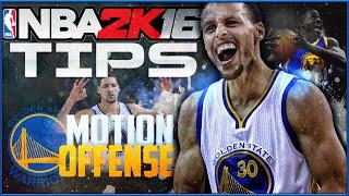 getlinkyoutube.com-How to Dominate Like Golden State! NBA 2K16 Tips & Tutorial: Warriors Offensive Breakdown