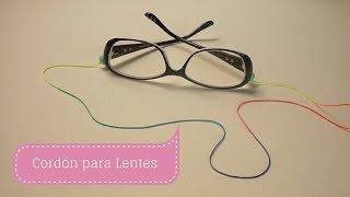 getlinkyoutube.com-Manualidades: CORDÓN para LENTES  o gafas Fácil /Bisutería DIY ♥ Sor Amparo Arredondo R.