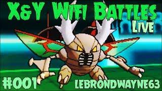 getlinkyoutube.com-Pokemon X and Y Wifi Battle #001 Vs. lebrondwayne63 - Mega Pinsir's Debut!