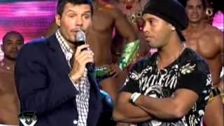 getlinkyoutube.com-Showmatch 2011 - Ronaldinho estuvo en Showmatch