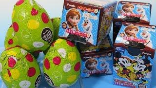 チョコエッグ アナと雪の女王 2回目 ディズニーキャラクター4 Disney Frozen Chocolate surprise eggs