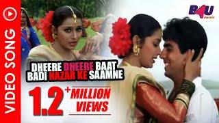 Dheere Dheere Baat Badi   Full Song     Nazar Ke Saamne   Akshay Kumar, Farheen