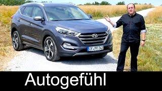 getlinkyoutube.com-All-new Hyundai Tucson 2016 FULL review test driven Premium - Autogefühl
