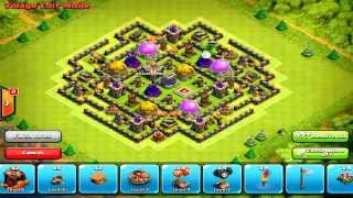 getlinkyoutube.com-Clash of Clans Best Th8 Farming Base Ever Anti Everything Speed Build