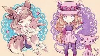 getlinkyoutube.com-[Pokemon XY AMV] Serena captura a Eevee - Heart Attack