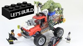 getlinkyoutube.com-Let's Build the LEGO Batman Movie Killer Croc Tail-Gator Set 70907