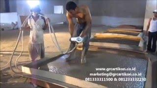 Pabrikasi GRC panel by GRCartiKON